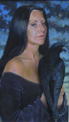 Woman with a Crow